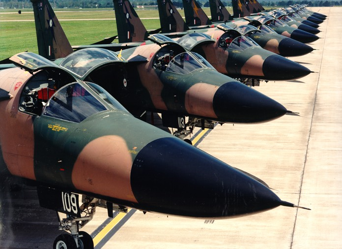 F-111 Line-up - Classic Paint Scheme
