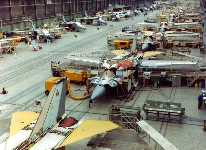 F-111 Production Line