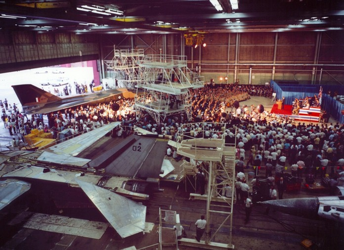 F-111C Production - Handover of A8-125