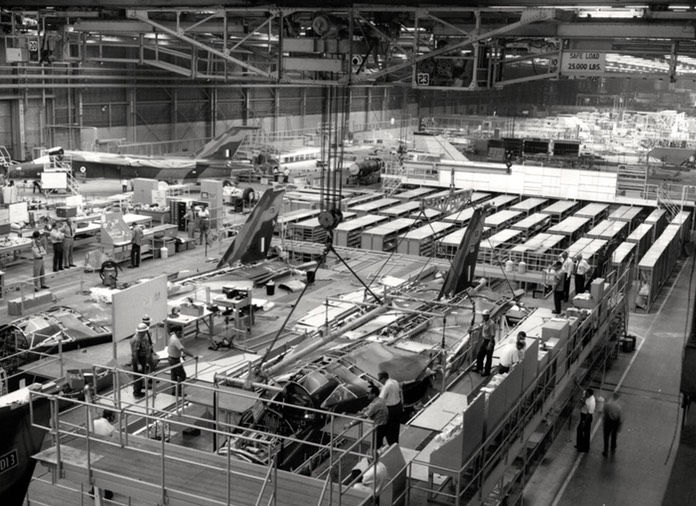F-111C Production Line Assy of A8-131 - Oct 72 - 02 - Version 2